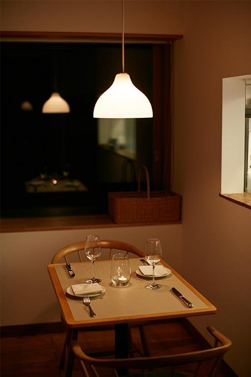 レストラン ルスティク ディナー